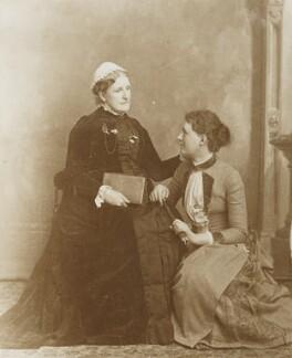 Hannah Smith (née Whitall) (Mrs Pearsall Smith); Alys Whitall Russell (née Pearsall Smith), by Unknown photographer - NPG Ax160624