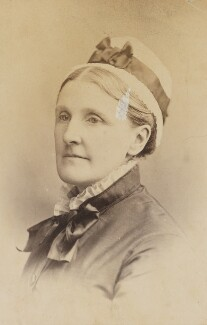 Hannah Smith (née Whitall) (Mrs Pearsall Smith), by Unknown photographer - NPG Ax160629