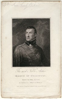 Arthur Wellesley, 1st Duke of Wellington, by Henry Richard Cook, published by  Patrick Martin, after  William Haines - NPG D42964