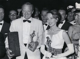 Van Heflin; Leslie Caron, by Planet News - NPG x184305