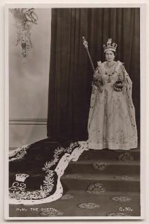 Queen Elizabeth II, published by James Valentine & Sons Ltd - NPG x138027