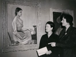 Harriet Cohen; Barbara Price Hughes, by P.A. Reuter Photos Ltd - NPG x184334