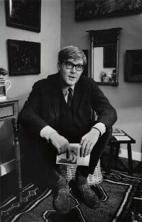 Alan Bennett, by Michael Peto, November 1966 - NPG x138049 - © University of Dundee The Peto Collection