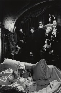 Ken Russell, Christopher Gable, Judith Paris and unknown cast members in 'Dance of the Seven Veils', by Michael Peto - NPG x138051