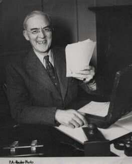Sir Stafford Cripps, by P.A. Reuter Photos Ltd - NPG x184336