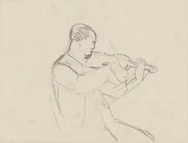 Unknown violinist, by Ernest Procter - NPG 4975(19)