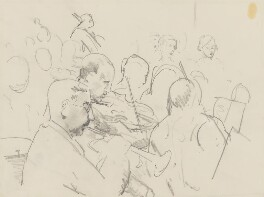 Unknown members of the orchestra, by Ernest Procter - NPG 4975(21)
