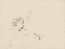 Unknown trumpet player, by Ernest Procter - NPG 4975(27)