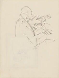 Unknown violinist, by Ernest Procter - NPG 4975(28)