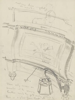 Sir George Thomas Thalben-Ball, by Ernest Procter - NPG 4975(29)