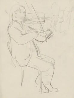 Unknown violinist, by Ernest Procter - NPG 4975(34)