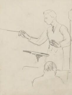 (Hubert) Leslie Woodgate, by Ernest Procter - NPG 4975(36)