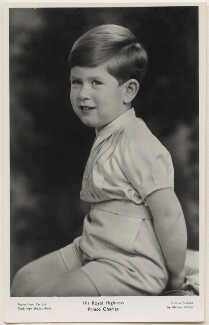 Prince Charles, by Marcus Adams, published by  The Photochrom Co Ltd - NPG x138079