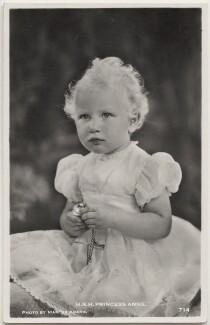 Princess Anne, by Marcus Adams - NPG x138086