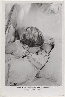 Prince Charles; Princess Anne, by Cecil Beaton, published by  Raphael Tuck & Sons - NPG x138108
