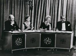 David Nixon; Isobel Morag (née Marshall), Lady Barnet; Barbara Kelly; Gilbert Charles Harding, by BBC - NPG x184362