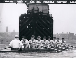 Cambridge rowing crew, 1963, by Central Press - NPG x184366