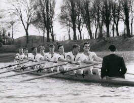 Oxford rowing crew, 1963, by Central Press - NPG x184367