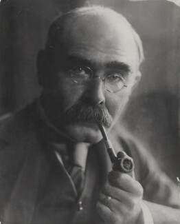 Rudyard Kipling, by Culver Pictures Ltd - NPG x138111