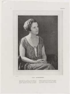 Mary Lilian (née Share), Viscountess Rothermere, by Man Ray - NPG x138123