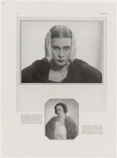 Iya (née de Gay), Lady Abdy, by Man Ray - NPG x138124