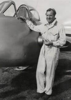 Sir Geoffrey De Havilland, by Sport & General Press Agency Ltd - NPG x184369