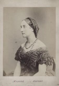 Adelaide Ristori, by (Octavius) Charles Watkins - NPG x138114