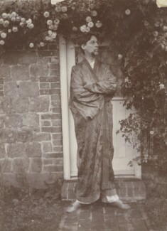 Oliver Strachey, by Rachel Pearsall Conn ('Ray') Strachey (née Costelloe), 1911 - NPG Ax160801 - © National Portrait Gallery, London