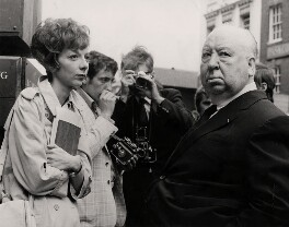 Anna Massey; Alfred Hitchcock, by Associated Press - NPG x182313
