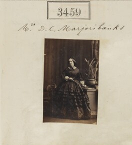 Isabella (née Hogg), Lady Tweedmouth, by Camille Silvy - NPG Ax52855