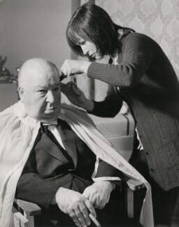 Alfred Hitchcock; Patricia ('Pat') McDermott, by Dan Slater - NPG x182317