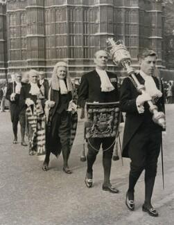 Quintin McGarel Hogg, 1st Baron Hailsham of St Marylebone, by Central Press - NPG x182325