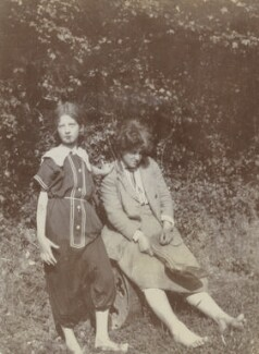 Julia Frances Strachey; Ray Strachey, by Unknown photographer - NPG Ax160816