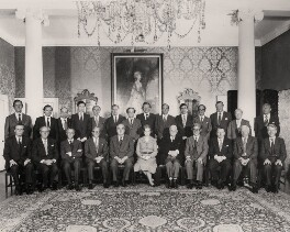 Margaret Thatcher and the Cabinet of 1979, by Central Press - NPG x182327