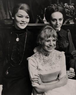 Glenda Jackson as Masha, Marianne Faithfull as Irina and Avril Elgar as Olga in 'Three Sisters', by Keystone Press Agency Ltd - NPG x182339
