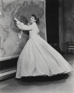 Gertrude Lawrence as Anna in 'The King and I', by Vandamm Studio, for  Planet News - NPG x182349