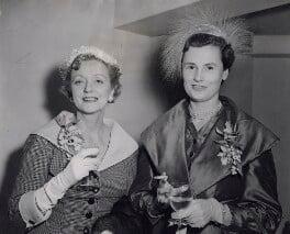 Evelyn Laye; Isobel Morag (née Marshall), Lady Barnet, by P.A. Reuter Photos Ltd - NPG x182350