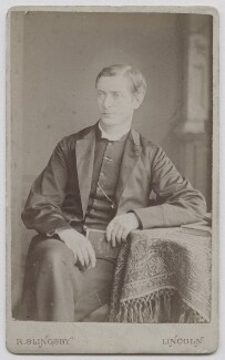 Edward Tucker Leeke, by Robert Slingsby - NPG x138128