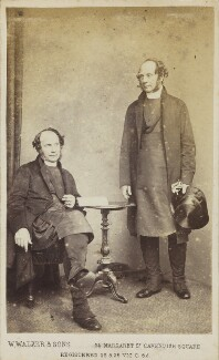 Two unknown men, by William Walker & Sons - NPG Ax10069