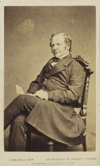 Granville George Leveson-Gower, 2nd Earl Granville, by William Walker & Sons - NPG Ax10079
