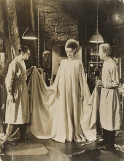 Colin Clive; Elsa Lanchester; Ernest Frederic Graham Thesiger in 'The Bride of Frankenstein', by Universal Studios - NPG x138131