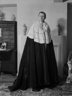 Charles Ughtred John Kay-Shuttleworth, 4th Baron Shuttleworth, by Navana Vandyk - NPG x130628