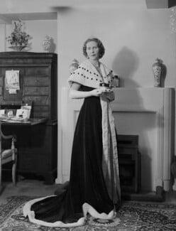 Anne Elizabeth (née Phillips), Lady Shuttleworth, by Navana Vandyk - NPG x130632