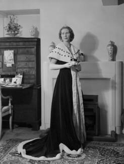 Anne Elizabeth (née Phillips), Lady Shuttleworth, by Navana Vandyk - NPG x130634