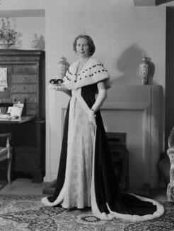 Anne Elizabeth (née Phillips), Lady Shuttleworth, by Navana Vandyk - NPG x130635