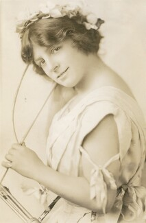 Alice Lloyd (née Wood), by Unknown photographer - NPG x194005