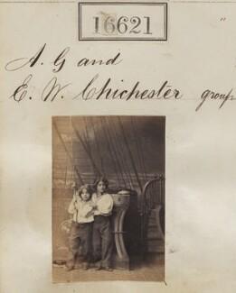 Alan George Chichester; Ernest William Chichester, by Camille Silvy - NPG Ax64524