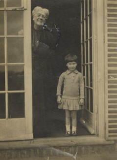 Jane Maria (née Grant), Lady Strachey; Barbara Strachey, by Ray Strachey - NPG Ax160833