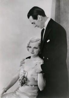 Adrianne Allen (Adrianne Massey); Raymond Massey, by (Muriel) Elizabeth Ivimey - NPG x194021