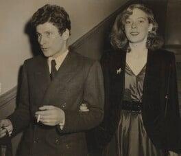 Lucian Freud; Lady Caroline Blackwood, by Unknown photographer - NPG x194024